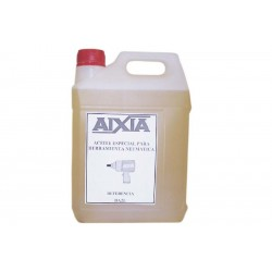 Aceite para la lubricaci—n de herramienta neum‡tica. Se usa en los lubricadores de aire comprimido. Recipiente de 2 litros.