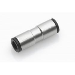 Recto de empalme tubo-tubo Ø4*4