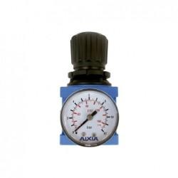Regulador de aire comprimido con manómetro y rosca de 1/4